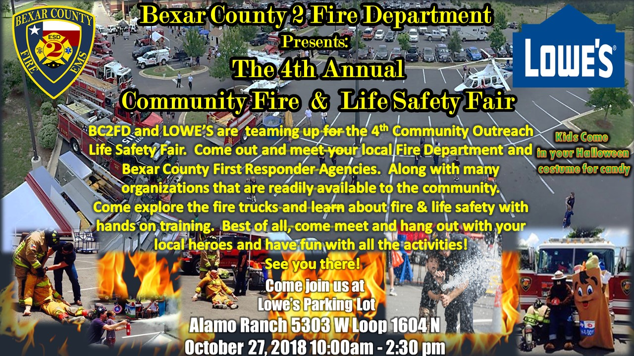 Community Fire & Life Safety Fair 2018.pptx [Autosaved]